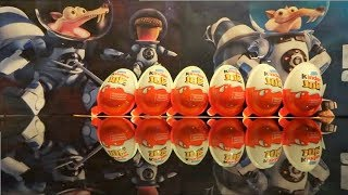 32 Ice Age 5 Collision Course Surprise Eggs Kinder Joy from movie (3 video in one) #117