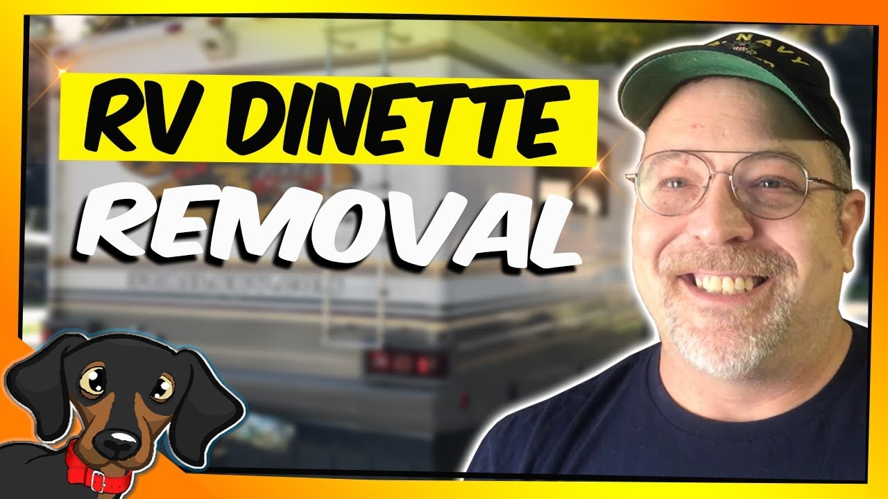 RV Dinette Removal Thoughts And Ideas Blog 8 YouTube