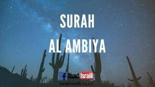 08 Surah Al Anbiya Tafseer by Asad Israili in Urdu