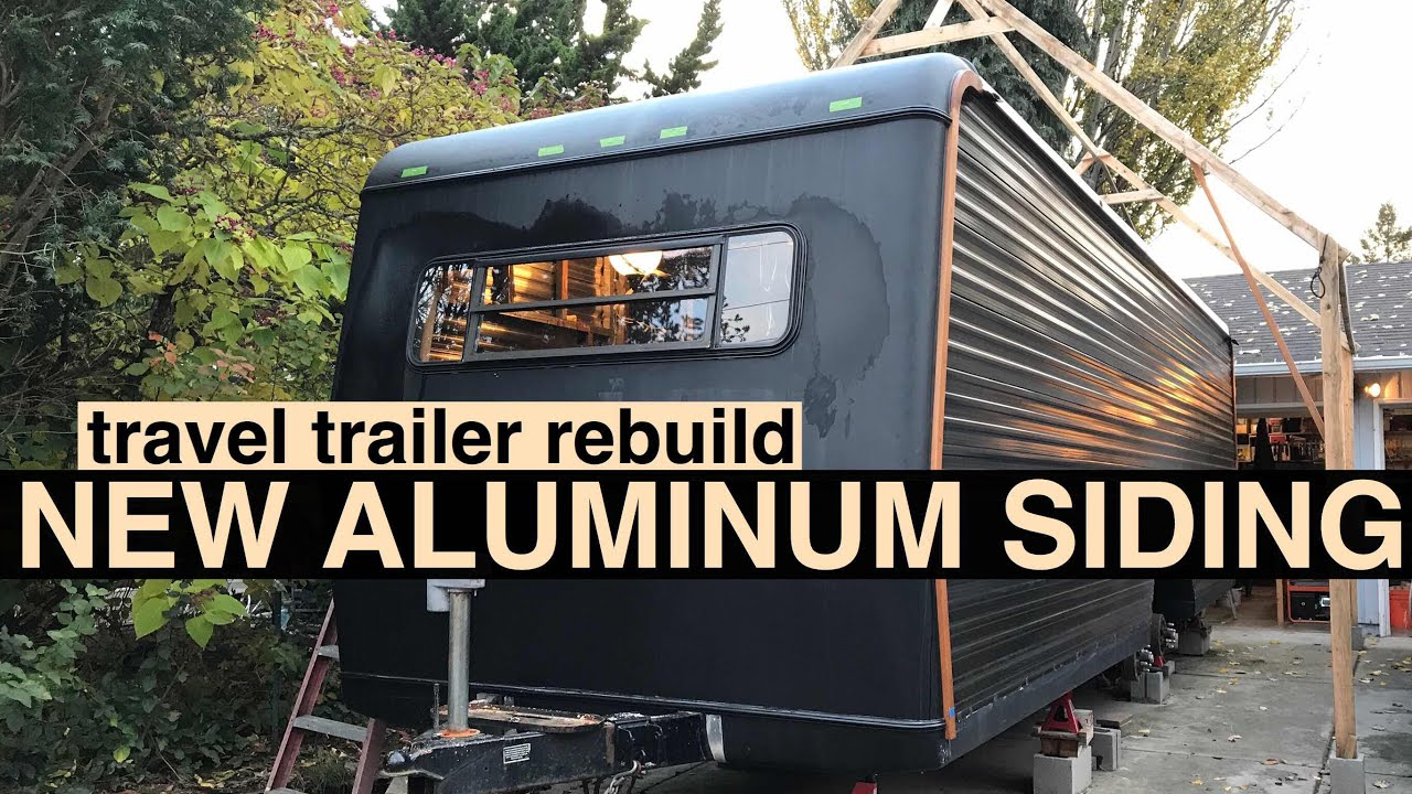 New aluminum and fiberglass RV siding