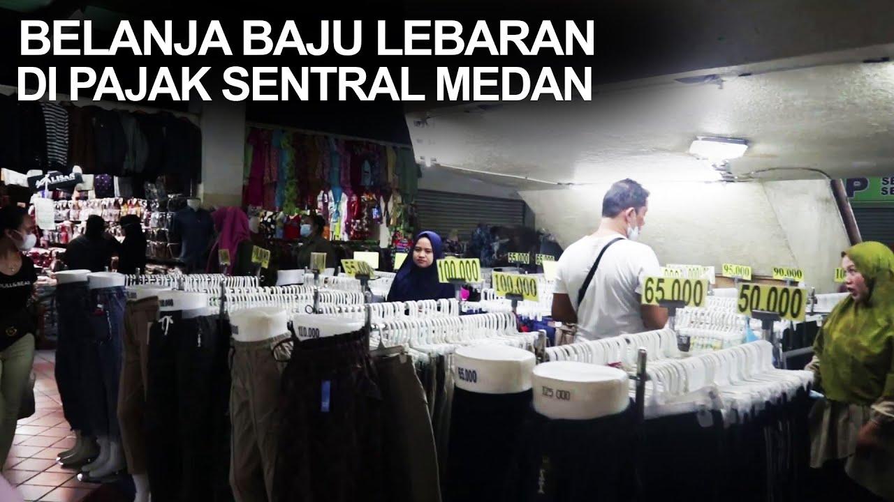 Kekginilah Pajak Sentral Medan Mall Menjelang Lebaran