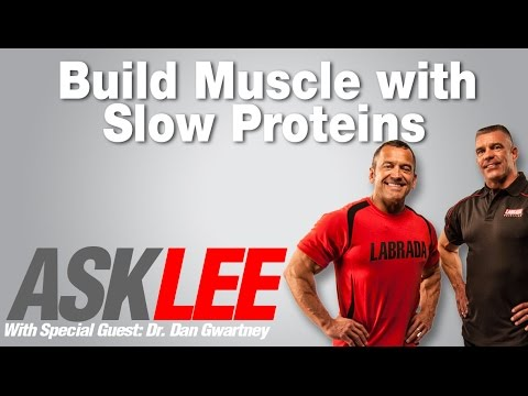 Night Time Proteins - Slow digesting - With Lee Labrada and Dr. Dan