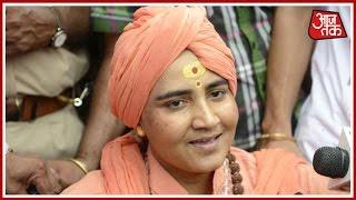 Sadhvi Pragya Singh Thakur Threatens Fast Unto Death