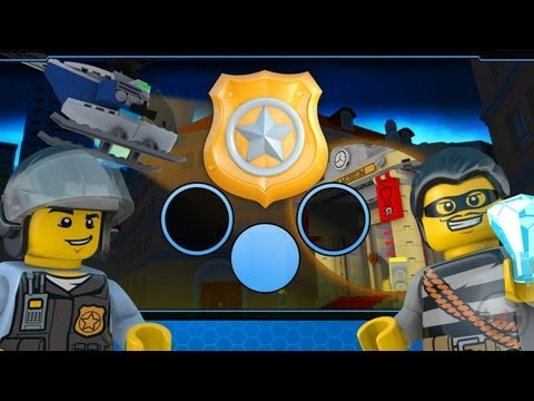 LEGO® City Spotlight Robbery - iPhone & iPad Gameplay Video