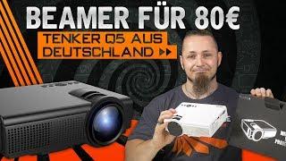 TENKER Q5 📽 Beamer aus Deutschland für 80€ [Review, Technik, German, Deutsch]