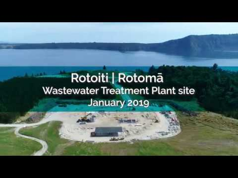 Rotoiti | Rotomā Wastewater Treatment Plant site - January 2019