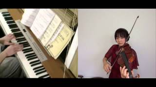 Gambar cover Disney - A Whole New World (piano, violin) FT. Yachiho Moriyama