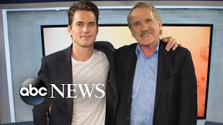 Download Video Matt Bomer talks 'The Last Tycoon' and playing a stripper in 'Magic Mike' MP3 3GP MP4