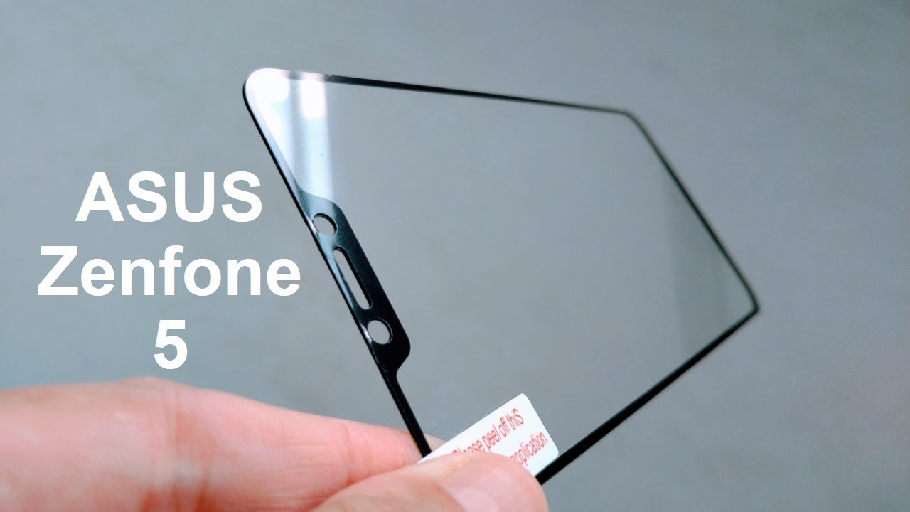 Asus Zenfone 5 Tempered Glass Full Screen Protector Youtube Mocolo Padfone S Phone Only Original