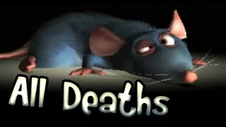 Ratatouille All Deaths | Fail Cutscenes | Game Over (PS2, GCN, Wii, PC, XBOX)