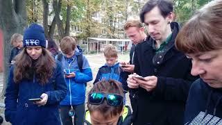 Pokemon Go - Первый Харьковский рейд на Mewtwo