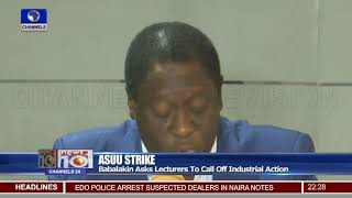 ASUU Strike: Babalakin Asks Lecturers To Call Off Industrial Action