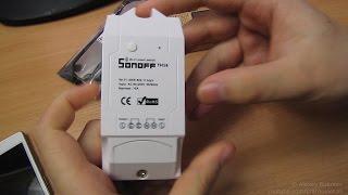 Беспроводной WiFi выключатель\термостат Sonoff TH 10/16 от ITEAD