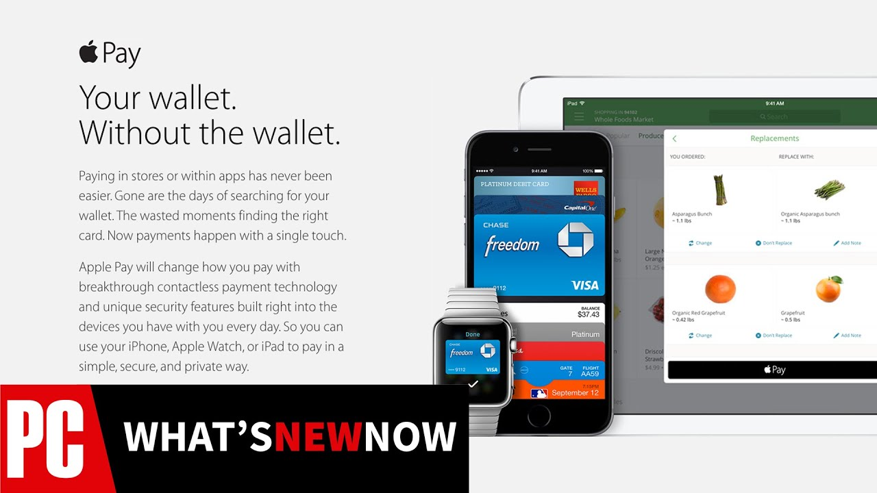 What's New Now: Apple Pay Arrives