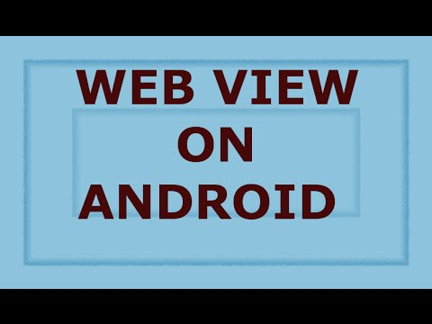 Google Maps Tutorial:WebView Android: HTML Page With Google Map API On Android Web View.