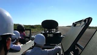 種子島での演習自衛隊装備品一般公開96式装輪装甲車試乗体験