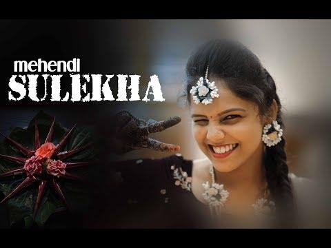 Mehendi Highlights of SULEKHA | Indian Mehendi Ceremony | Chaya Studio Kundapura