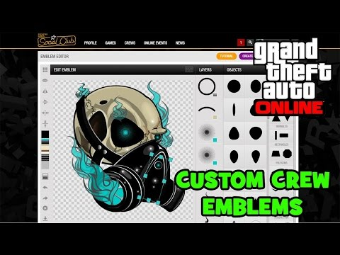 How To Copy Emblems On Rockstar Games Social Club