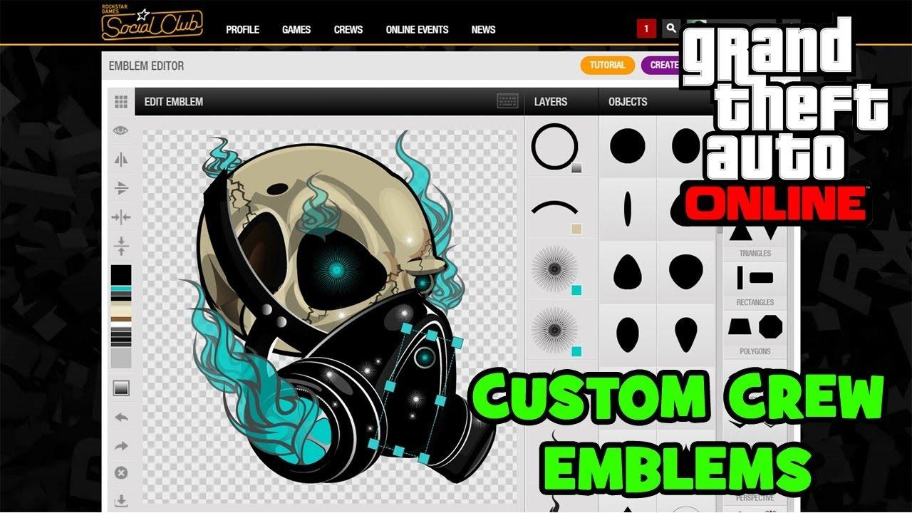 How To Copy Emblems On Rockstar Games Social Club - YouTube
