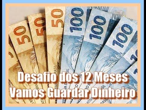 Desafio Dos 12 Meses - Vamos Guardar Dinheiro?