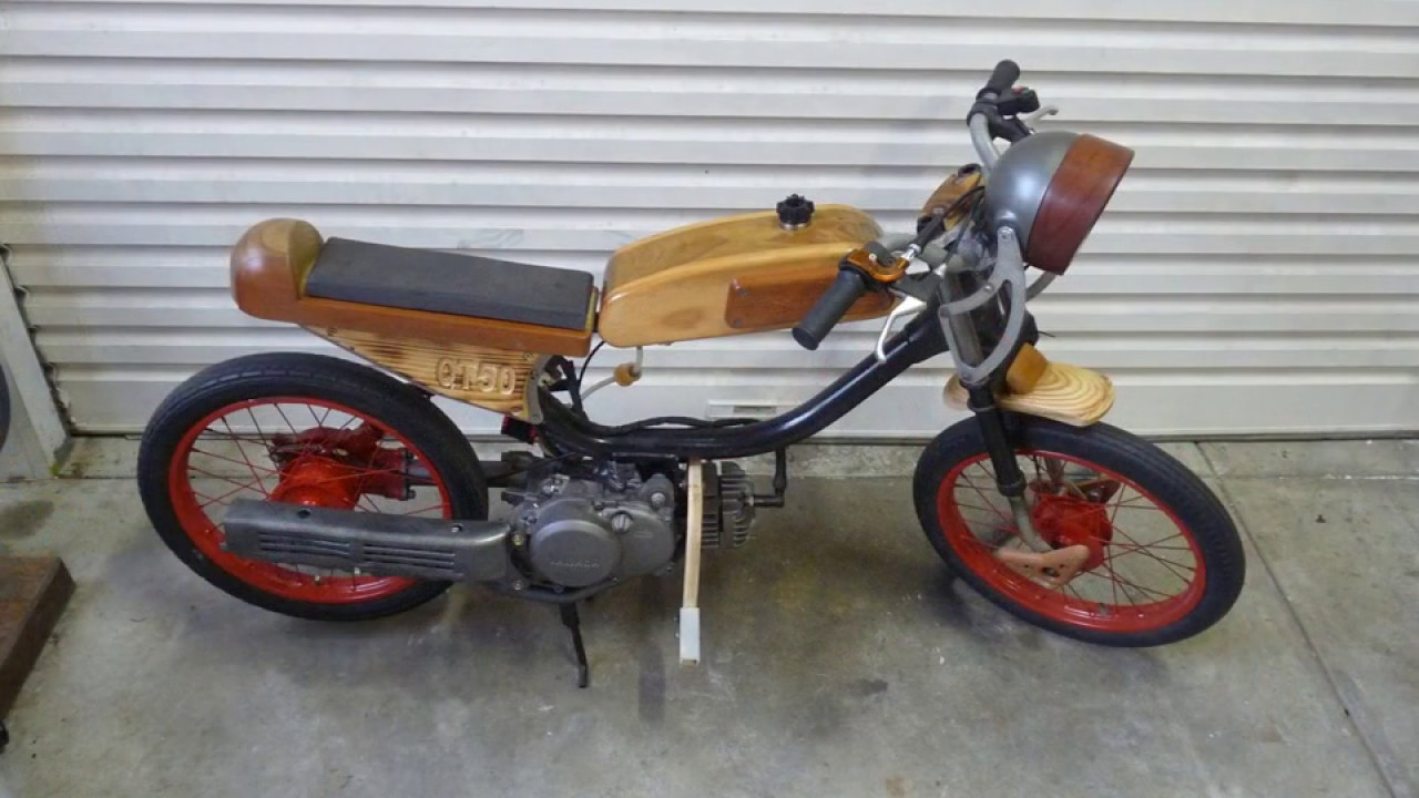 YAMAHA QT50 1980 Cafe Racer