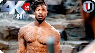 Black Panther - Killmonger Vs T'Challa - MOVIE CLIP (4K HD)