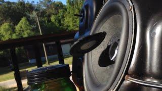 Perfect 10! (Sony subwoofer bass test!! 100watt)