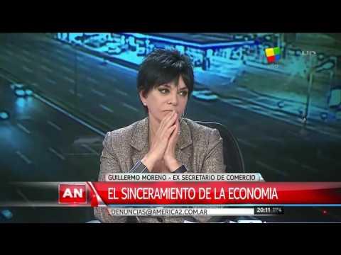 Guillermo Moreno Entrevista en America Noticias 2° Parte
