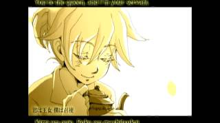 Kagamine Len and Rin - Servant of Evil ~Classical Version~ [Anime PV] English_Romaji Subs