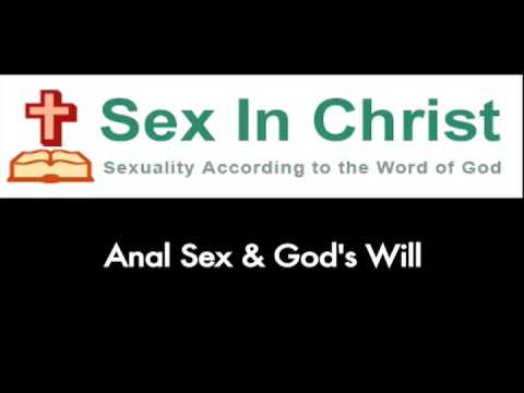 God is ok with anal sex