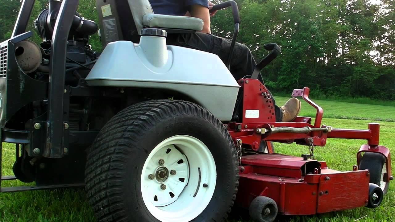 eXmark 60 Lazer Z Commercial Zero Turn lawn Mower hydro