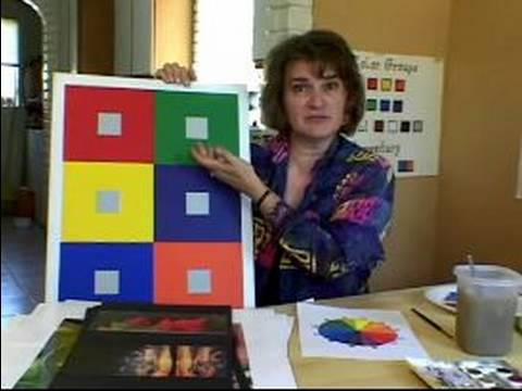 Color Wheel for Kids: Demonstrations and Projects : Complimentary Color Lesson for Kids