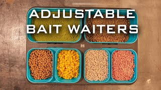 ** NEW ADJUSTABLE BAIT WAITERS AND BAIT BOXES **
