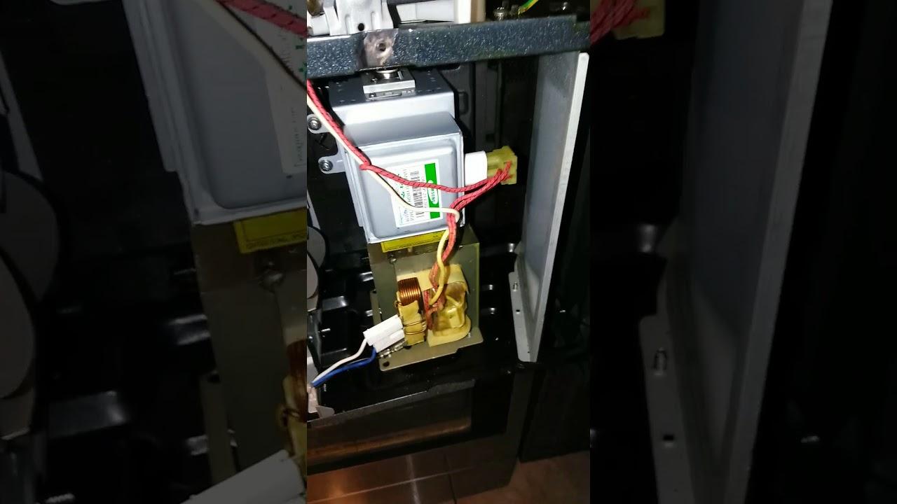 Samsung Smh2117s Over The Range Microwave Magnetron High