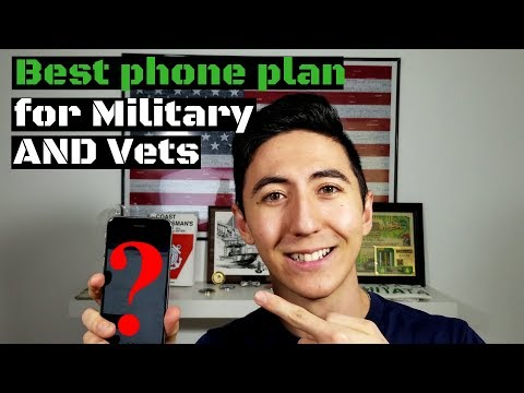 Best Military Discount Phone Plan (2019)