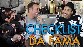 CHECKLIST COM HUGO GLOSS | #HottelMazzafera