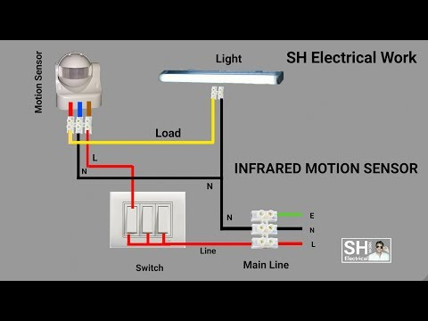 pir motion sensor switch / vtac - youtube  youtube