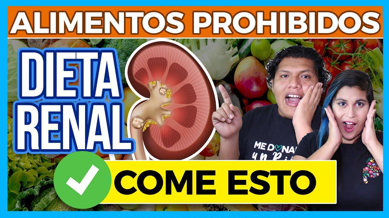 Alimentos Prohibidos Para Insuficiencia Renal Diálisis Y Hemodiálisis Junica Irc Youtube