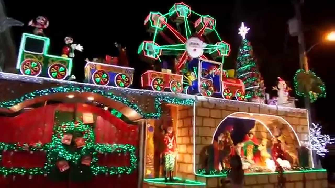Jerry Sy\'s Christmas House 2015 - YouTube