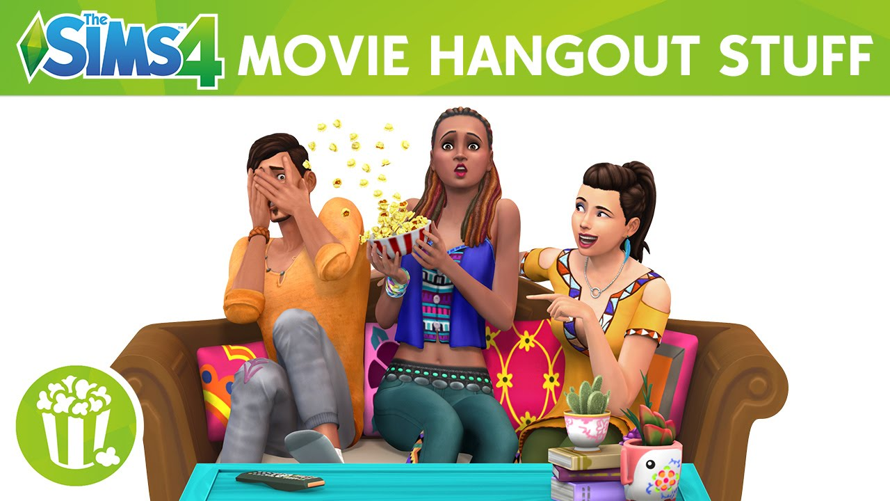 the sims 4 movie hangout stuff official trailer youtube