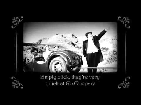 Go Compare.com silent movie TV advert Dec, 2010