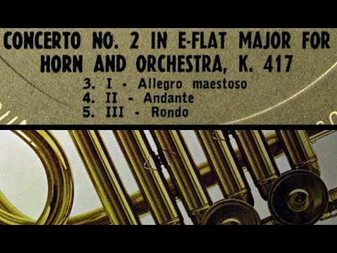 Mozart / Mason Jones, 1964: Horn Concerto No. 2 in E Flat Major K. 417