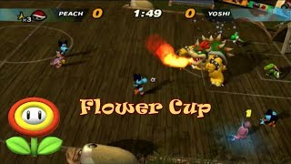 Super Mario Strikers Flower Cup LEGEND (480p) Golden Award
