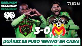 Resumen y Goles | FC Juárez 3 - 0 Morelia | Liga Mx - CL 2020 J-3 | TUDN