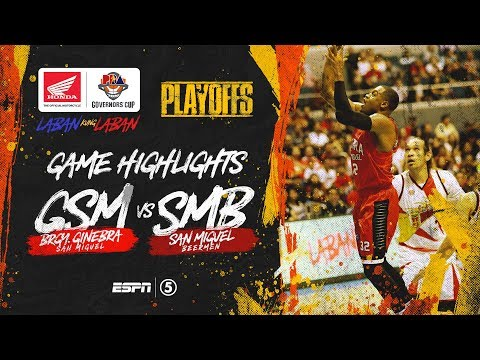 Highlights: Ginebra vs San Miguel | PBA Governors' Cup 2019 Quarterfinals