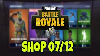 Today's SHOP 7 DECEMBER on FORTNITE: CACCIATOR skin of CIELI and ANIMAL FROM PALCOSCENICO