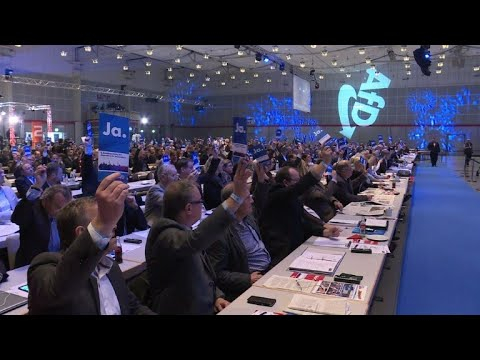 Germany's far right gather to pick new leaders
