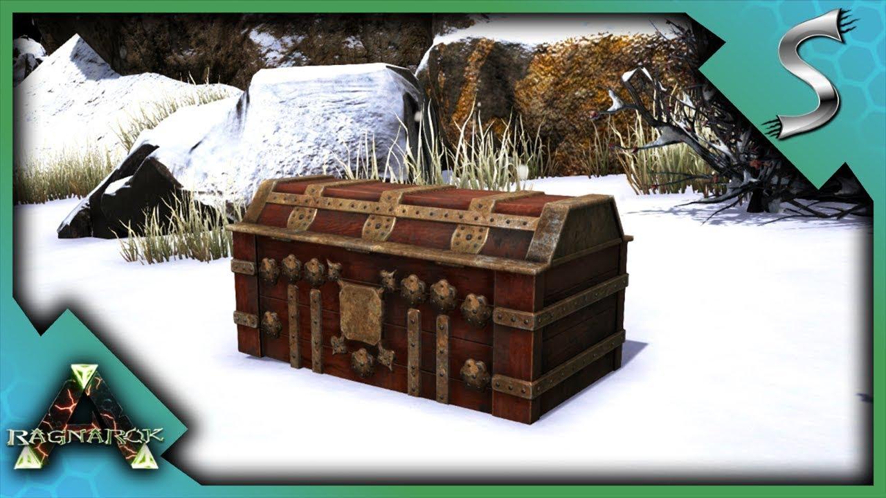 HUNTING EPIC LOOT CRATES! ASCENDANT ITEMS! - Ark: RAGNAROK [DLC Gameplay  E24]