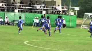 岐阜清流国体 少年男子準決勝 静岡vs福岡 下園直輝のゴール