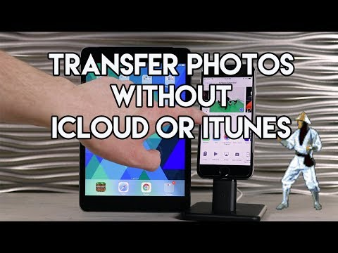 How to get old pictures on new iphone without icloud or itunes